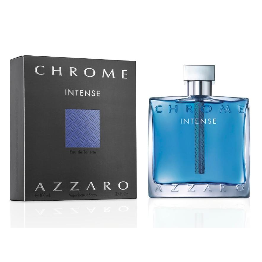 Azzaro Chrome Intense Туалетная вода мужская, 50 мл14350Ароматические, фужерные. Амбра, бобы тонка, бренди, ветивер, корица