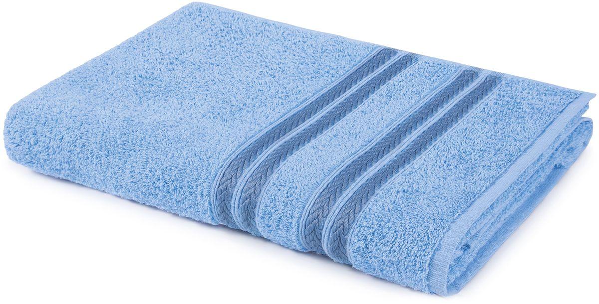 Полотенце Aquarelle Адриатика, цвет: светло-васильковый, 50 х 90 см полотенце махровое aquarelle таллин 1 цвет ваниль 50 х 90 см 707762