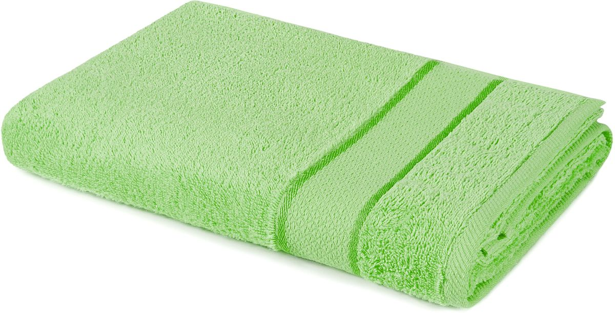 Полотенце Aquarelle Весна, цвет: светло-зеленый, 50 х 90 см полотенце махровое aquarelle таллин 1 цвет ваниль 50 х 90 см 707762