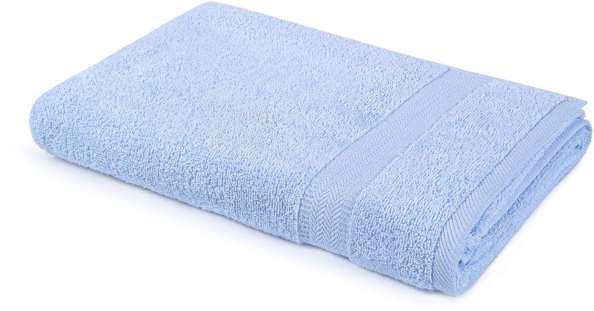Полотенце Aquarelle Настроение, цвет: светло-васильковый, 70 х 140 см полотенце махровое aquarelle таллин 1 цвет ваниль 50 х 90 см 707762
