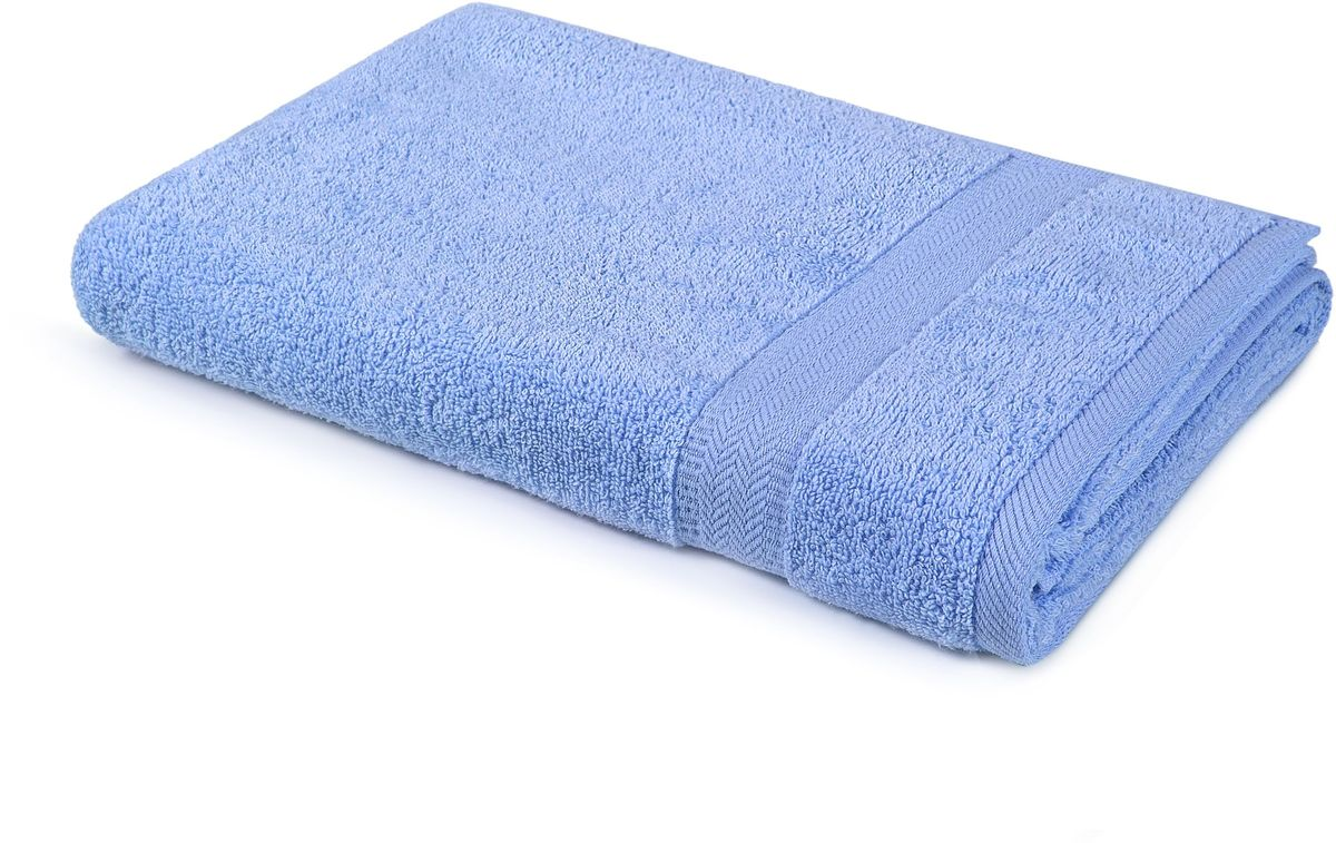 Полотенце Aquarelle Настроение, цвет: синий, 40 х 70 см полотенце махровое aquarelle таллин 1 цвет ваниль 50 х 90 см 707762
