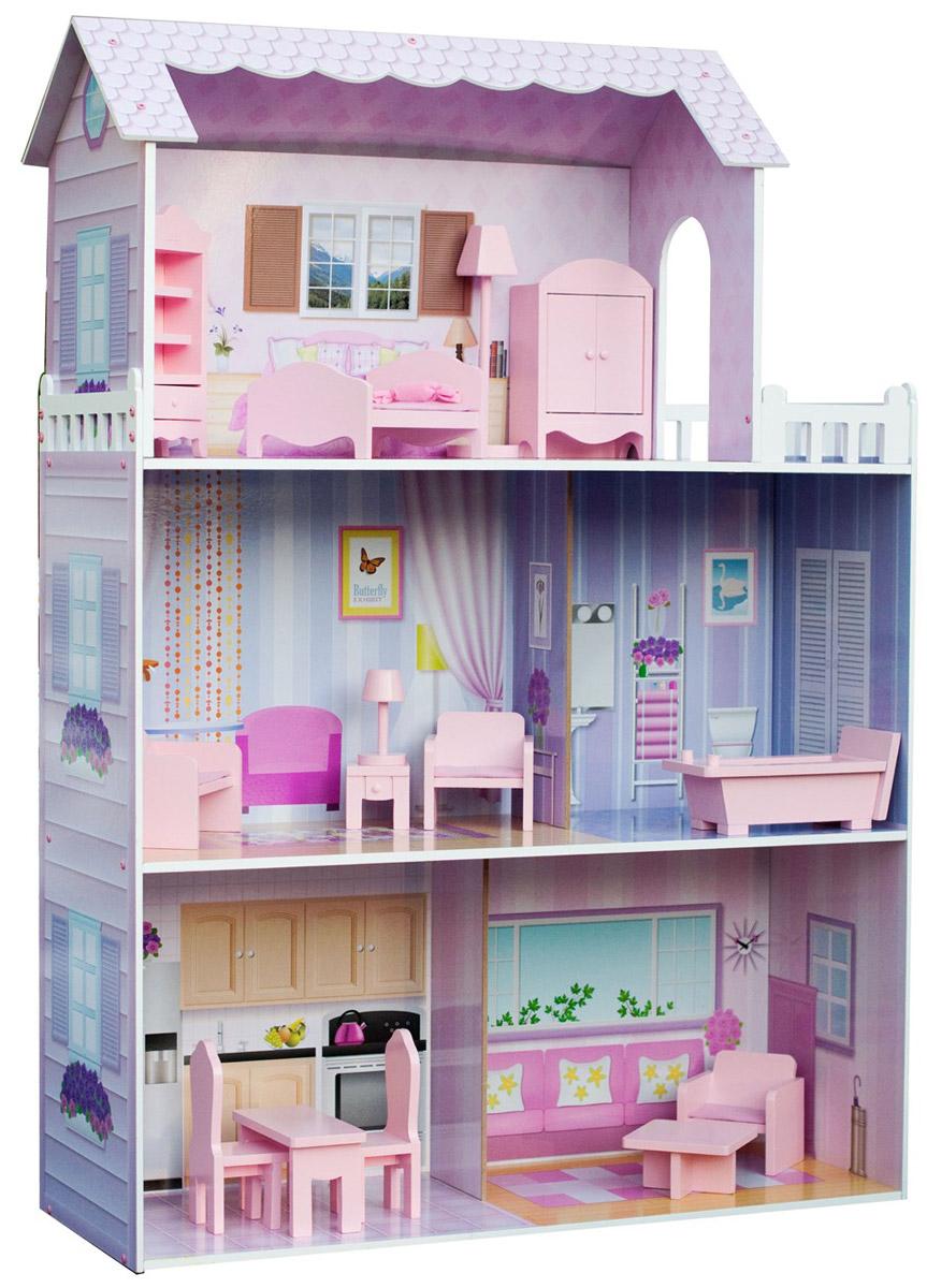 Kids4Kids Кукольный домик с мебелью Волшебная сказка кукольный домик купить в казани