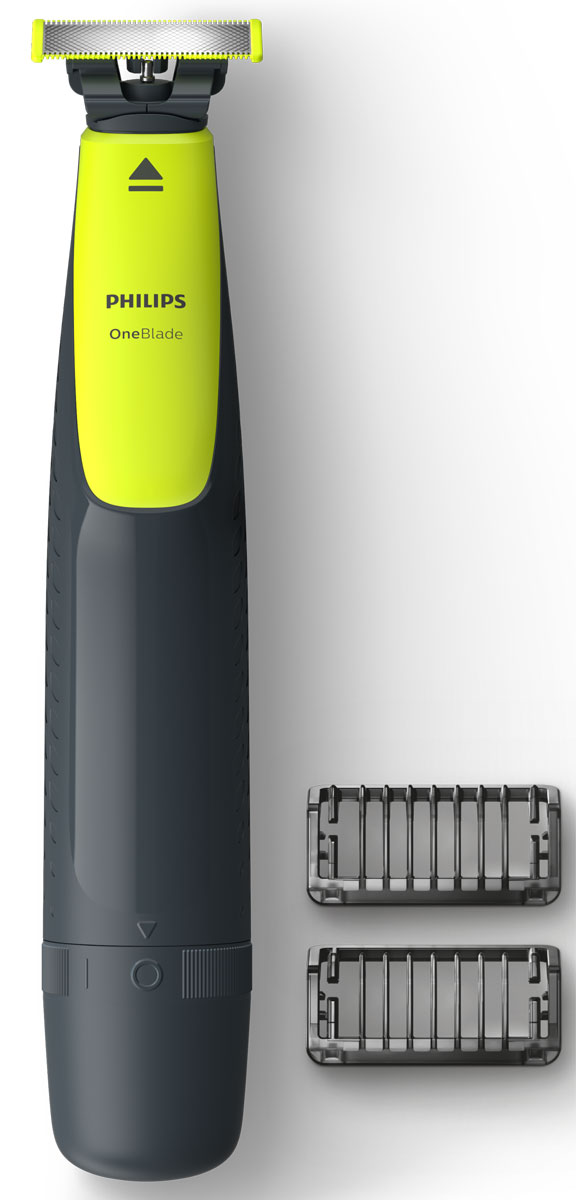 Philips OneBlade QP2510/11 с 2 насадками-гребнями - Триммеры