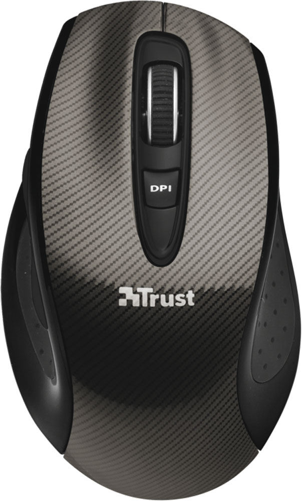 Trust Kerb Wireless Laser Mouse, Black мышь