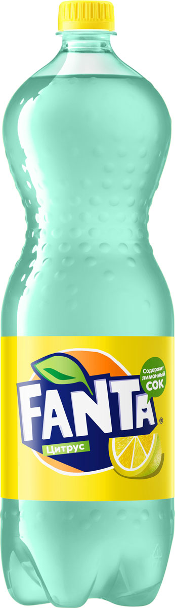 Fanta Цитрус напиток сильногазированный, 1,5 л напиток fanta апельсин газированный