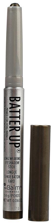 theBalm BatterUp Устойчивые кремовые тени-стик, Outfield, 1,6 г806421BatterUp это 8 великолепных оттенков теней от The Balm, выполненных в форме стика для легкого создания самых ярких smoky eyes.Высокопигментированная кремовая текстура теней ложится плотным слоем и легко растушевывается по коже век с помощью кисти, позволяя добиться нужной интенсивности оттенка.Удобная форма и оптимальная величина стика позволяет без труда наносить тени как на верхнее, так и на нижнее веко, что делает процесс создания smoky eyes значительно быстрее, а главное аккуратнее (больше не нужно удалять осыпающиеся тени и заново наносить консилер после макияжа глаз!).