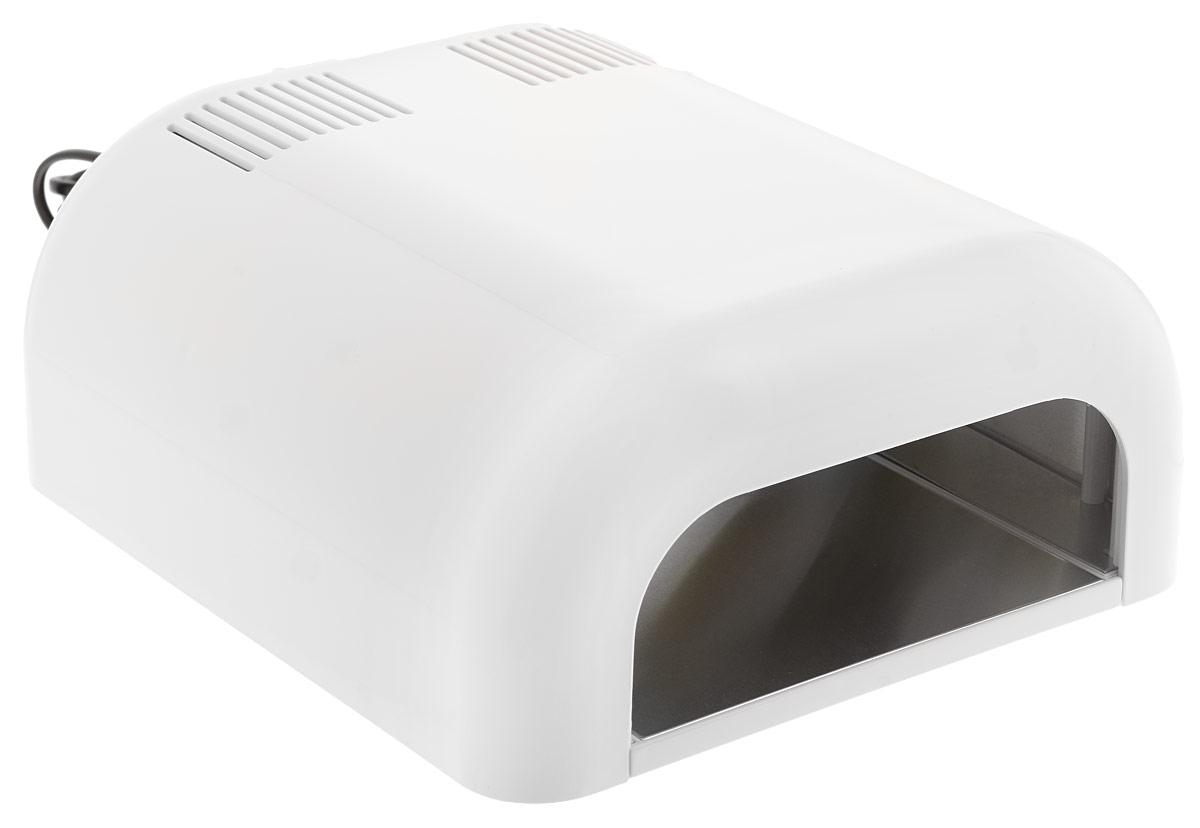 Dongri УФ лампа UV LAMP professional nail dryer 36 W, цвет: белый2991_белыйЕсли Вы планируете купить УФ лампу и не можете определиться с выбором, обратите внимание на этот прибор. Данная модель отличается высокой надежностью, оснащена таймером и для удобства мастера имеет на задней панели кнопку старта. Для нее можно использовать стандартные сменные лампочки индукционного типа, всегда имеющиеся в наличии в ассортименте нашей компании.Наличие выдвижной полки позволяет использовать УФ лампу SD-301C даже для процедур педикюра. Благодаря своей мощности и компактности, она идеально подойдет для домашнего наращивания ногтей, а невысокая цена сделает ее еще более выгодной покупкой.Как ухаживать за ногтями: советы эксперта. Статья OZON Гид