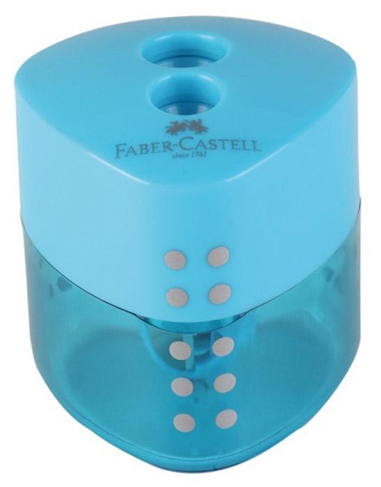 Faber-Castell Точилка Grip цвет голубой, Чертежные принадлежности  - купить со скидкой