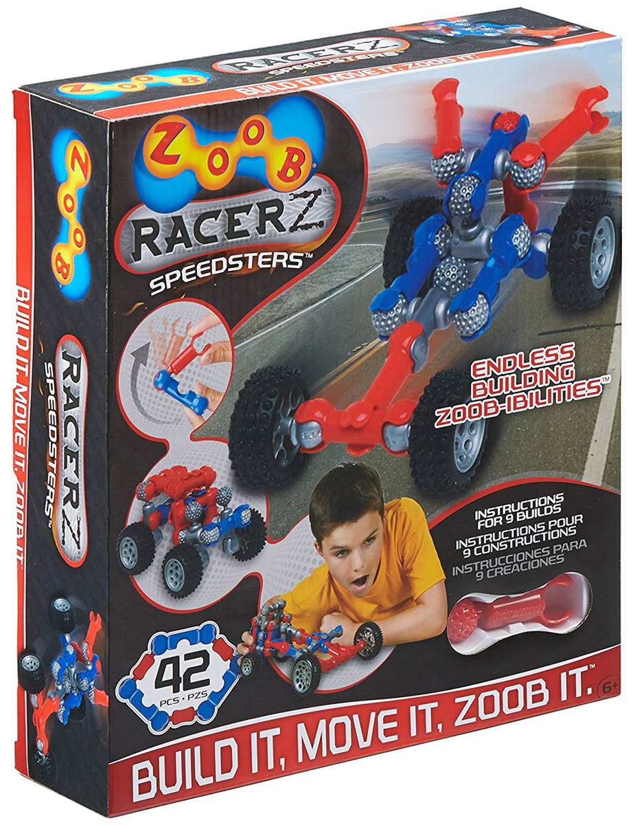 Zoob Конструктор Racer zoob 11055 55