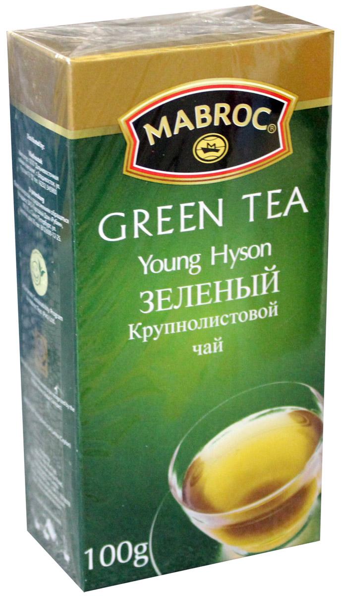 Mabroc Премиум классик Молодой Хайсон чай зеленый листовой, 100 г mabroc эрл грей чай черный листовой 100 г