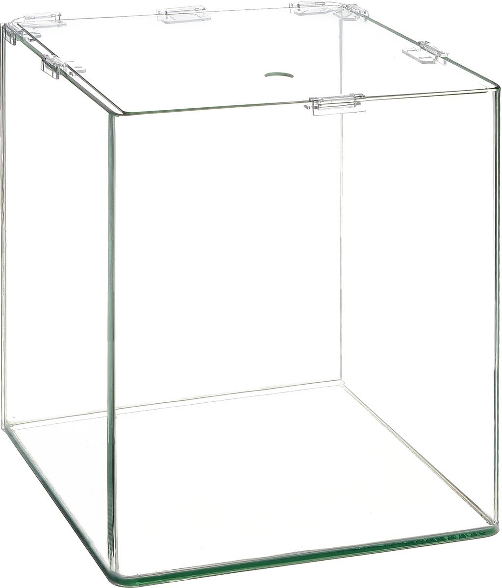 Аквариум Dennerle NanoCube, 10 лDEN5903Аквариум Dennerle NanoCube идеально подходит для содержания небольшого уголка природы в офисе, на столе, на кухне, в ванной комнате, прихожей или гостиной. Аквариум изготовлен из высококачественного стекла, передние углы бесшовные и оснащен покровной крышкой. В комплект входят черная пленка для задней стенки и пластиковые подкладки.