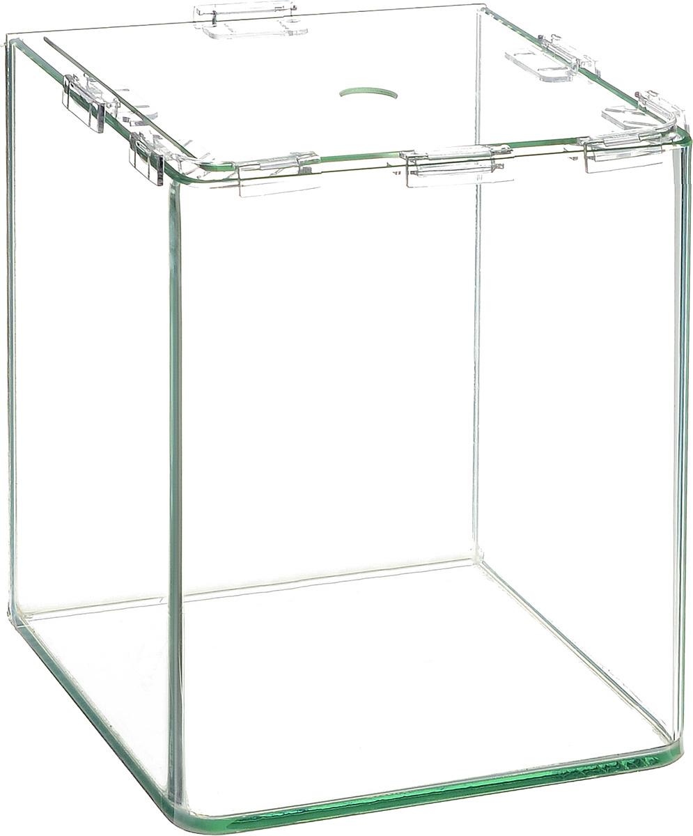 Аквариум Dennerle NanoCube, 30 лDEN5905Аквариум Dennerle NanoCube идеально подходит для содержания небольшого уголка природы в офисе, на столе, на кухне, в ванной комнате, прихожей или гостиной. Аквариум изготовлен из высококачественного стекла, передние углы бесшовные и оснащен покровной крышкой. В комплект входят черная пленка для задней стенки и пластиковые подкладки.