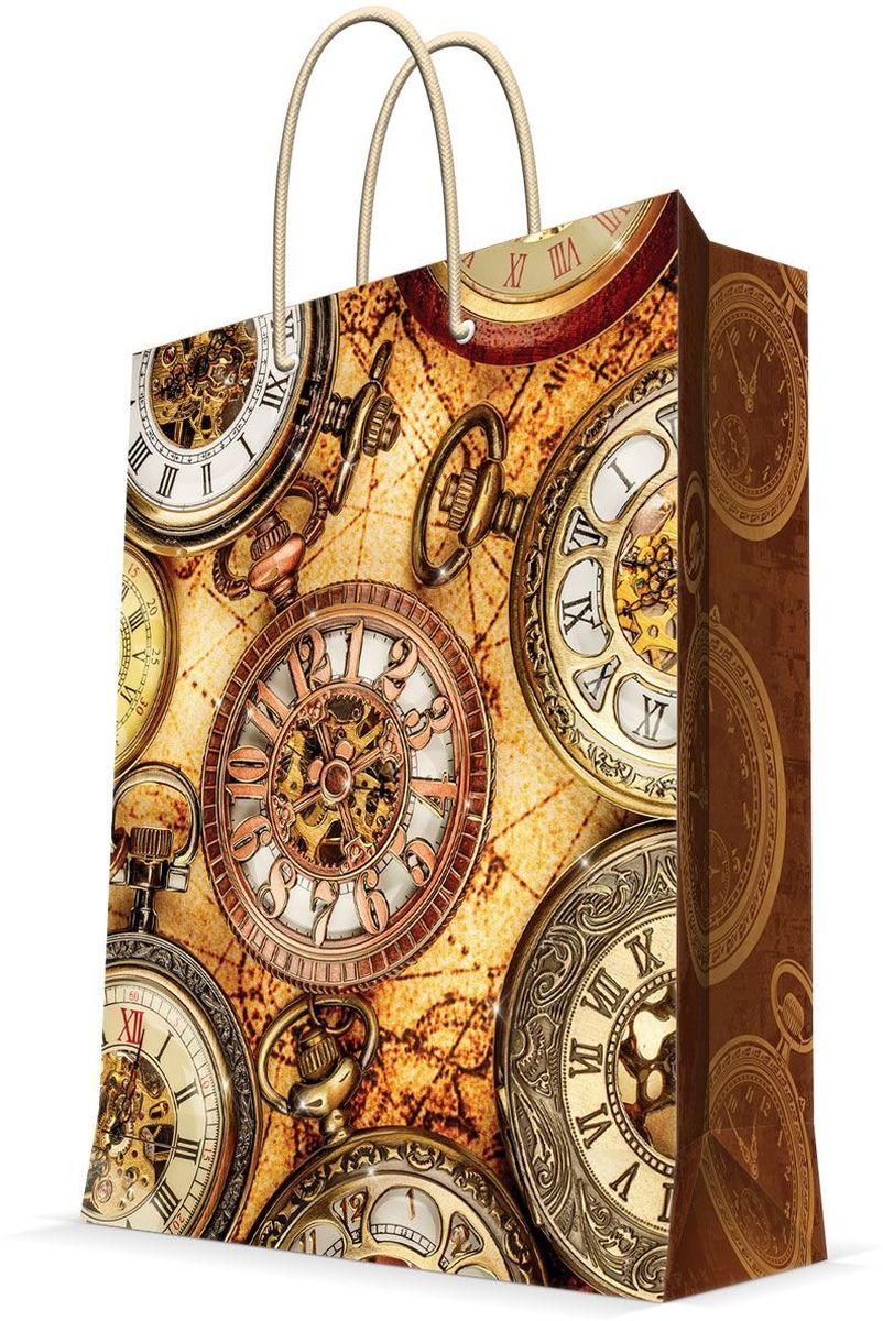 Пакет подарочный Magic Home Хронографы, 17,8 х 22,9 х 9,8 см43503Подарочный пакет Magic Home, изготовленный из плотной бумаги, станет незаменимым дополнением к выбранному подарку. Дно изделия укреплено картоном, который позволяет сохранить форму пакета и исключает возможность деформации дна под тяжестью подарка. Пакет выполнен с глянцевой ламинацией, что придает ему прочность, а изображению - яркость и насыщенность цветов. Для удобной переноски имеются две ручки в виде шнурков.Подарок, преподнесенный в оригинальной упаковке, всегда будет самым эффектным и запоминающимся. Окружите близких людей вниманием и заботой, вручив презент в нарядном, праздничном оформлении.Плотность бумаги: 140 г/м2.