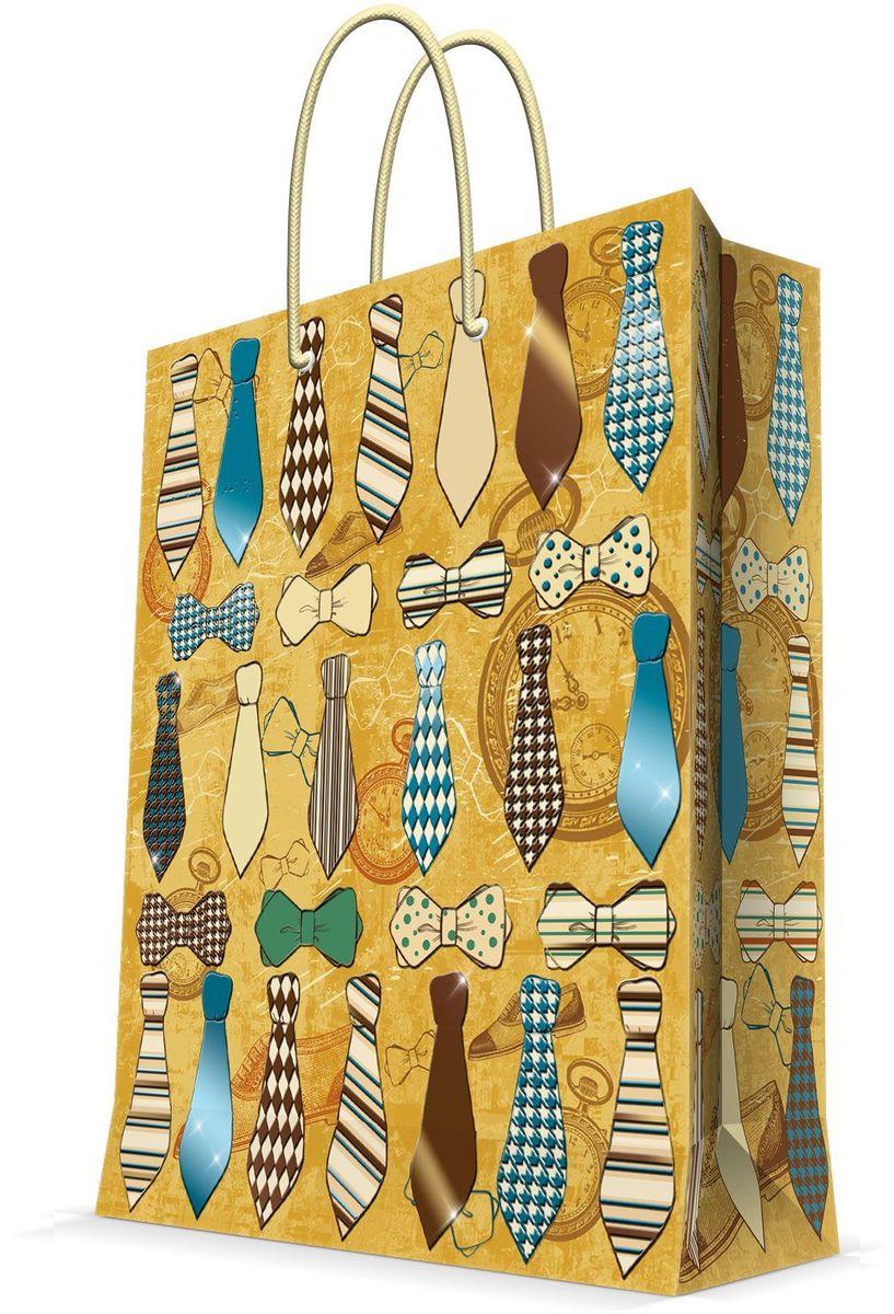 Пакет подарочный Magic Home Галстуки и бабочки, 26 х 32,4 х 12,7 см visual basic课程设计(附cd rom光盘1张)
