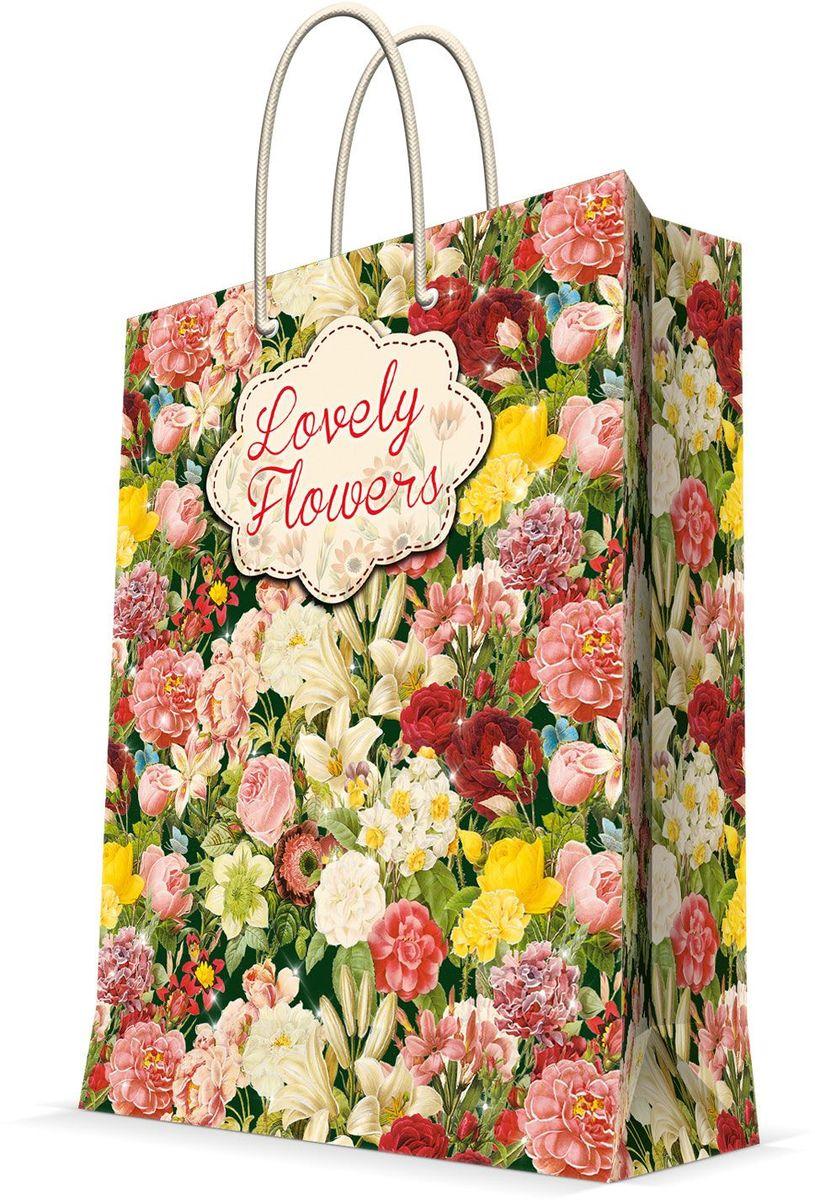 Пакет подарочный Magic Home Райский сад, 26 х 32,4 х 12,7 см44233Бумажный подарочный пакет Magic Home Книжные полки, изготовленный из плотной бумаги, станет незаменимым дополнением к выбранному подарку. Дно изделия укреплено картоном, который позволяет сохранить форму пакета и исключает возможность деформации дна под тяжестью подарка. Пакет выполнен с ламинацией, что придает ему прочность, а изображению - яркость и насыщенность цветов. Для удобной переноски имеются две ручки в виде шнурков. Подарок, преподнесенный в оригинальной упаковке, всегда будет самым эффектным и запоминающимся. Окружите близких людей вниманием и заботой, вручив презент в нарядном, праздничном оформлении.Плотность бумаги: 140 г/м2.