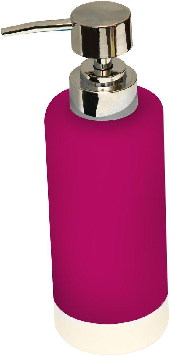 Диспенсер для мыла Proffi Home, цвет: красный, 350 мл. PH6474PH6474Диспенсер для жидкого мыла Proffi Home - незаменимый аксессуар для тех, кто ценит чистоту своей раковины и экономный расход мыла.Вы можете легко переставлять его при необходимости. Этот диспенсер выполнен из керамики. Керамика выгодно отличается от других материалов в первую очередь натуральностью и благородным внешним видом. Этот материал устойчив к перепадам температур, повышенной влажности и бытовым химическим средствам. Каучуковое покрытие обеспечивает антискользящий эффект. Благодаря лаконичной форме такой аксессуар отлично впишется в любой интерьер ванной комнаты и станет ее украшением. Материал: керамика, каучук.Размеры изделия: 6 х 6 х 13 см.