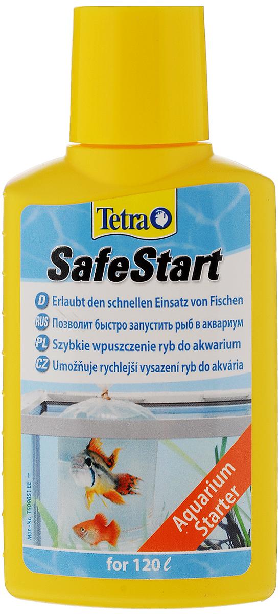 Бактериальная культура Tetra Safe Start для запуска нового аквариума, 100 мл корм tetra tetramin xl flakes complete food for larger tropical fish крупные хлопья для больших тропических рыб 10л 769946