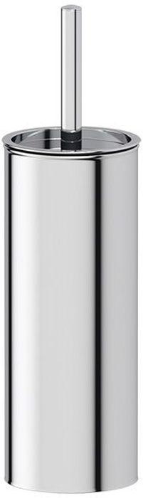 """Ершик для унитаза Defesto """"Pro"""" имеет ручку из высококачественной нержавеющей стали и белую щетку, с жестким густым ворсом. Подставка изготовлена из нержавеющей стали.Высококачественные материалы позволят наслаждаться покупкой долгие годы. Изделие приятно дополнит интерьер вашей туалетной комнаты."""