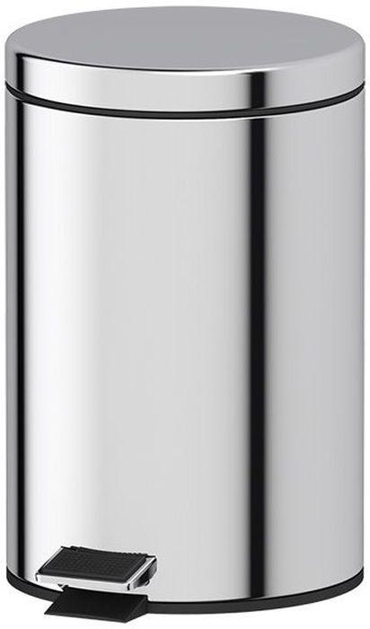 Ведро для мусора Defesto Pro, с педалью, 7 лDEF 005Ведро для мусора Defesto Pro изготовлено из нержавеющей стали с зеркальной полировкой. Ведро оснащено крышкой, которая открывается с помощью нижней педали. Внутренняя пластиковая корзина легко достается и моется. Такая модель прекрасно подойдет для уборки или хранения мусора. Диаметр корзины: 20 см.