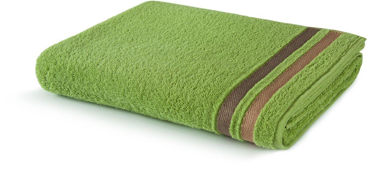 Полотенце Aquarelle Исландия, цвет: травяной, 50 х 90 см полотенце махровое aquarelle таллин 1 цвет ваниль 50 х 90 см 707762