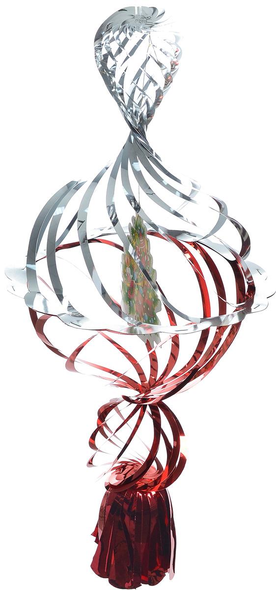 Украшение новогоднее подвесное Winter Wings Елочка, цвет: красный, серебристый, 40 х 20 х 20 смN09176_красный, золотистыйНовогоднее украшение Winter Wings Елочка прекрасно подойдет для декора дома и праздничной елки. Изделие выполнено из ПВХ. С помощью специальной петельки украшение можно повесить в любом понравившемся вам месте. Легко складывается и раскладывается.Новогодние украшения несут в себе волшебство и красоту праздника. Они помогут вам украсить дом к предстоящим праздникам и оживить интерьер по вашему вкусу. Создайте в доме атмосферу тепла, веселья и радости, украшая его всей семьей.