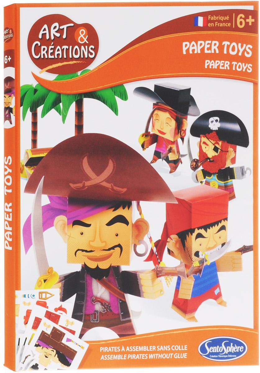 SentoSphere Набор для изготовления игрушек Пираты наборы для рисования sentosphere песочные картинки города мира