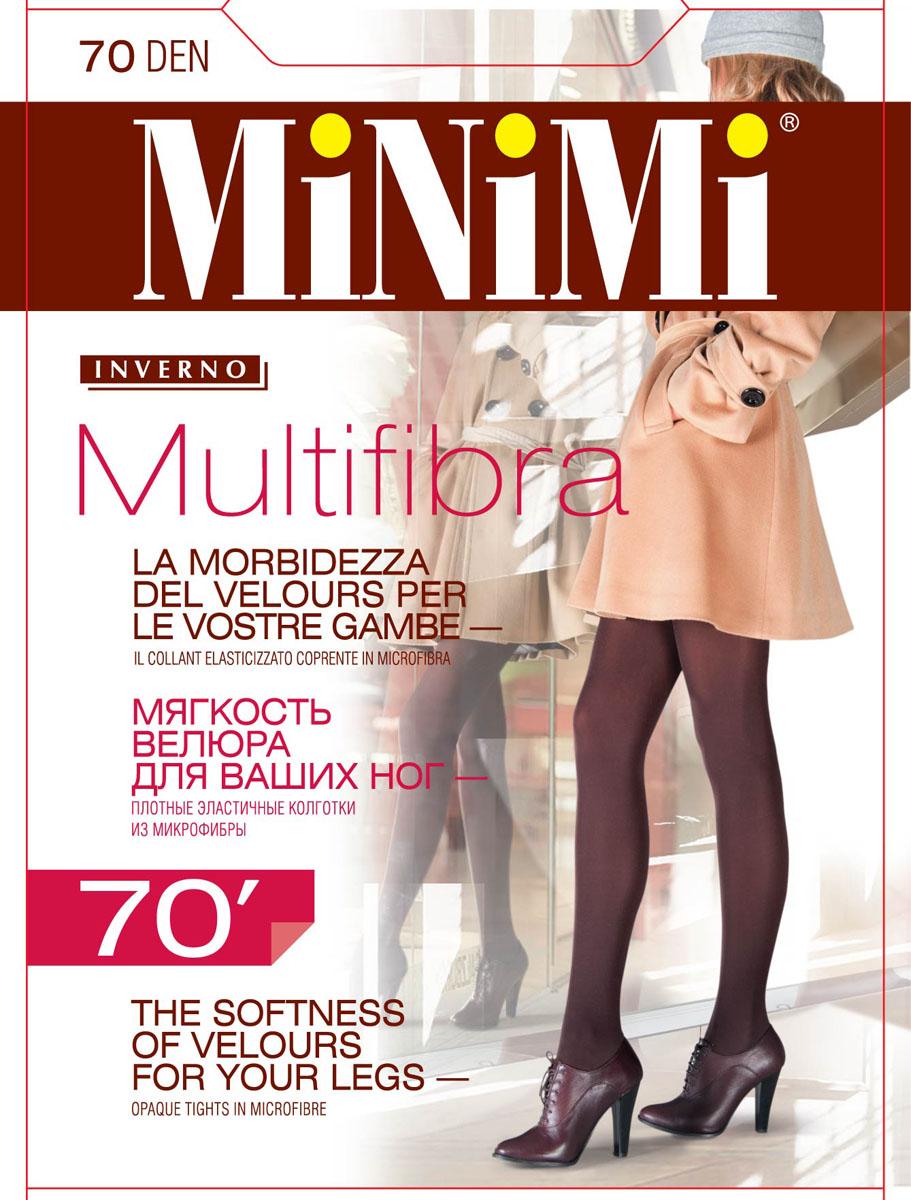 Колготки женские Minimi Multifibra 70, цвет: Moka (коричневый). SNL-123207. Размер 4 (46/48)