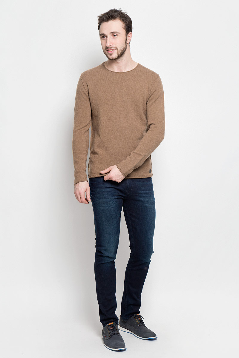 Джемпер мужской Marc O'Polo, цвет: коричневый. 507460646_754. Размер M (46)