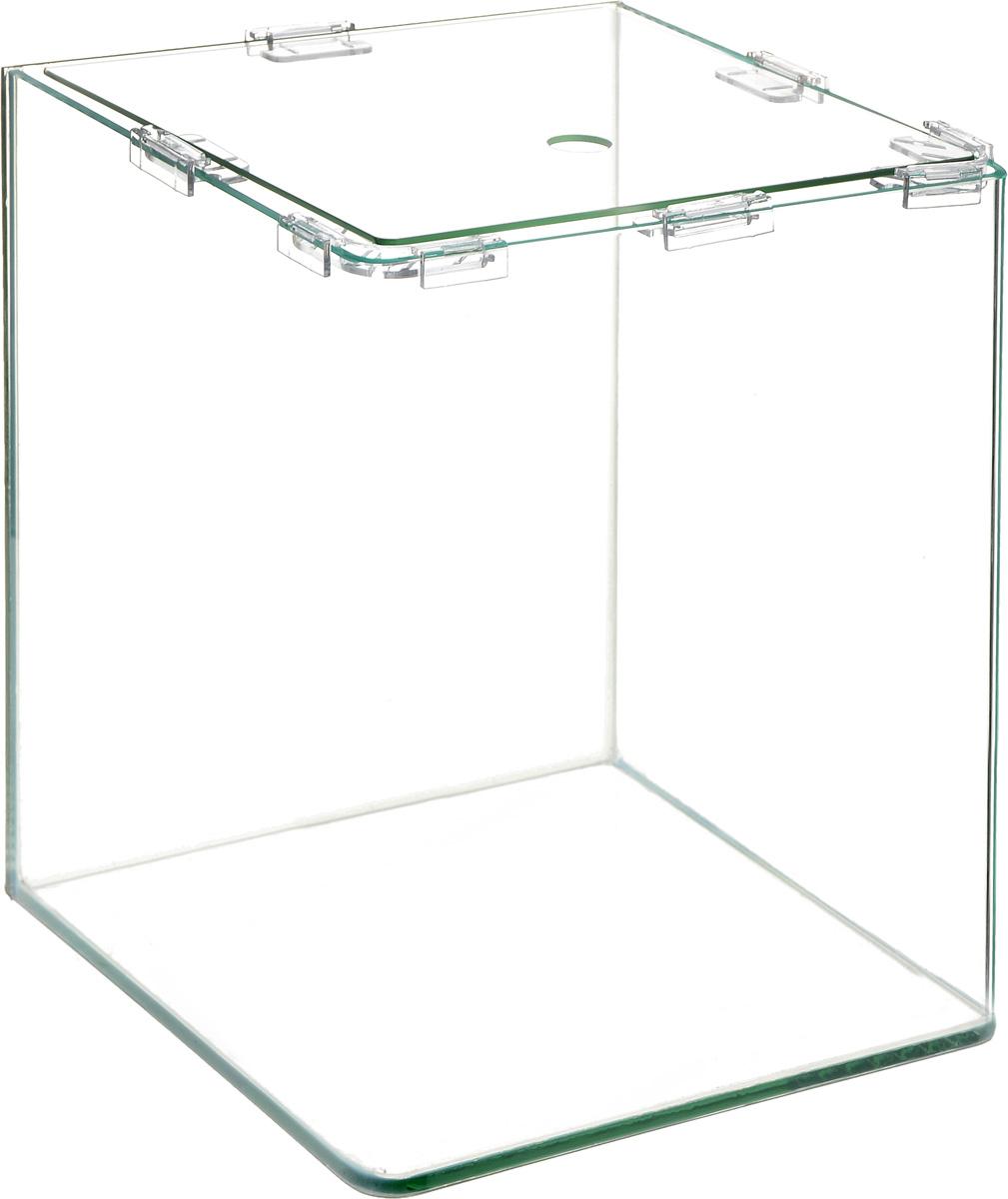 Аквариум Dennerle NanoCube, 20 лDEN5904Аквариум Dennerle NanoCube идеально подходит для содержания небольшого уголка природы в офисе, на столе, на кухне, в ванной комнате, прихожей или гостиной. Аквариум изготовлен из высококачественного стекла, передние углы бесшовные и оснащен покровной крышкой. В комплект входят черная пленка для задней стенки и пластиковые подкладки.