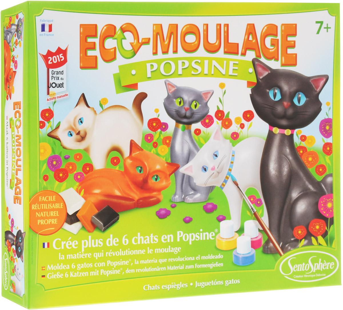 SentoSphere Набор для изготовления игрушек Кошка и котята