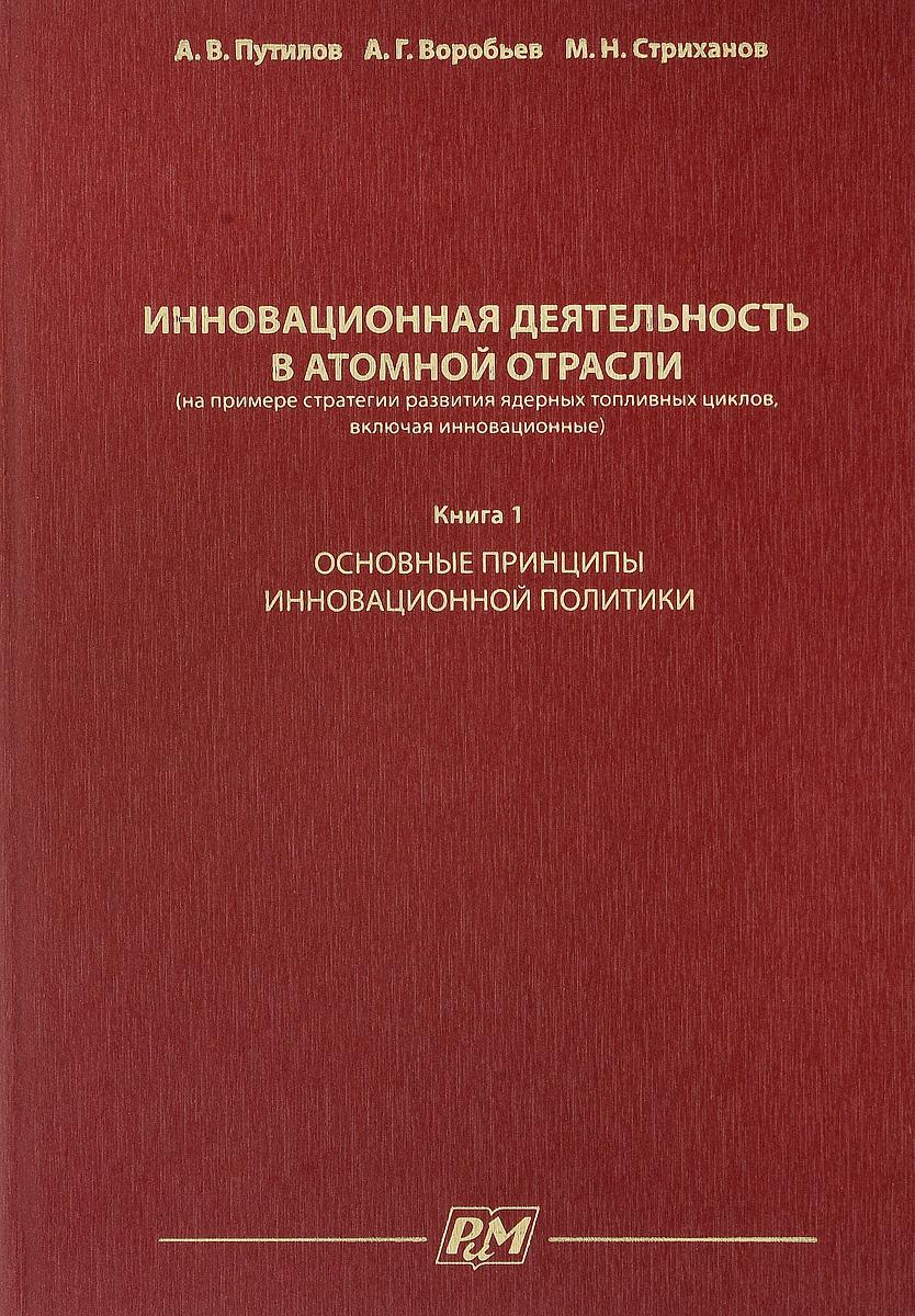 Инновационная деятельность в атомной отрасли (на примере стратегии развития ядерных топливных циклов, включая инновационные). Книга 1. Основные принципы инновационной политики