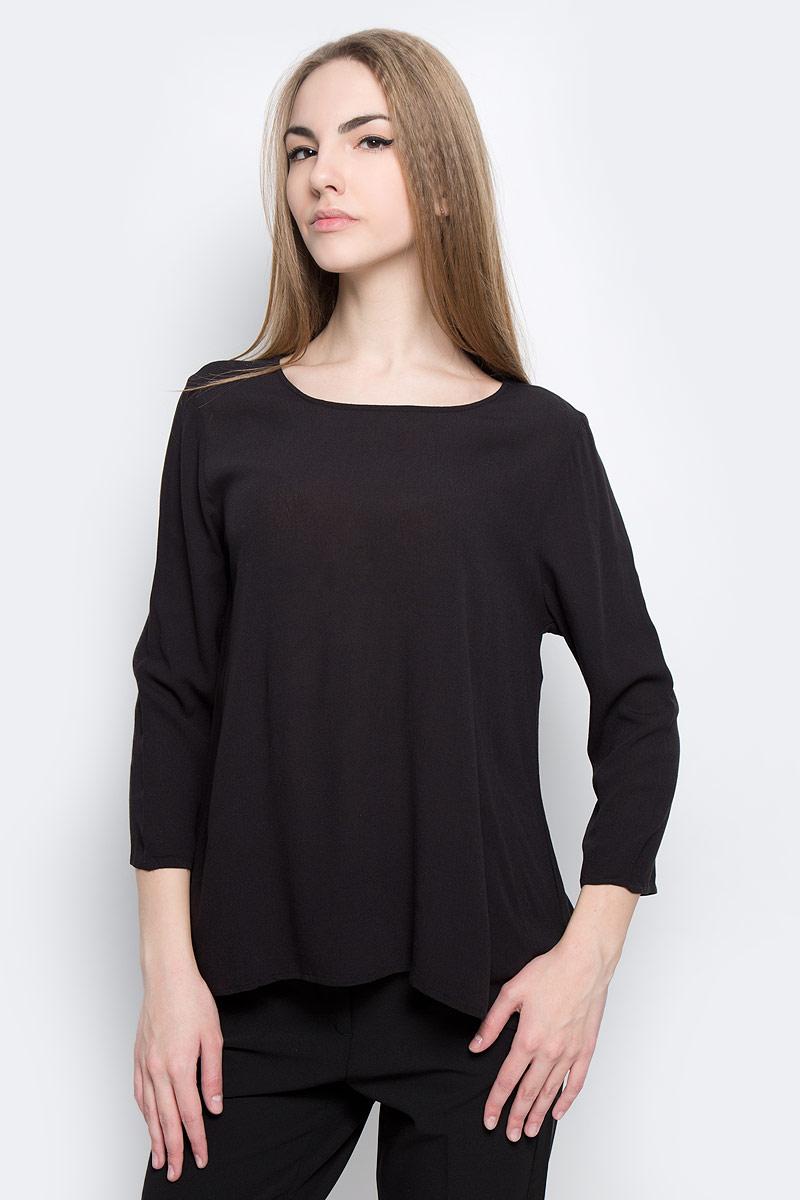 Блузка женская Tom Tailor Denim, цвет: черный. 2032753.00.71_2999. Размер L (48) блузка женская tom tailor denim цвет темно синий 1036105 01 71 6901 размер xs 42