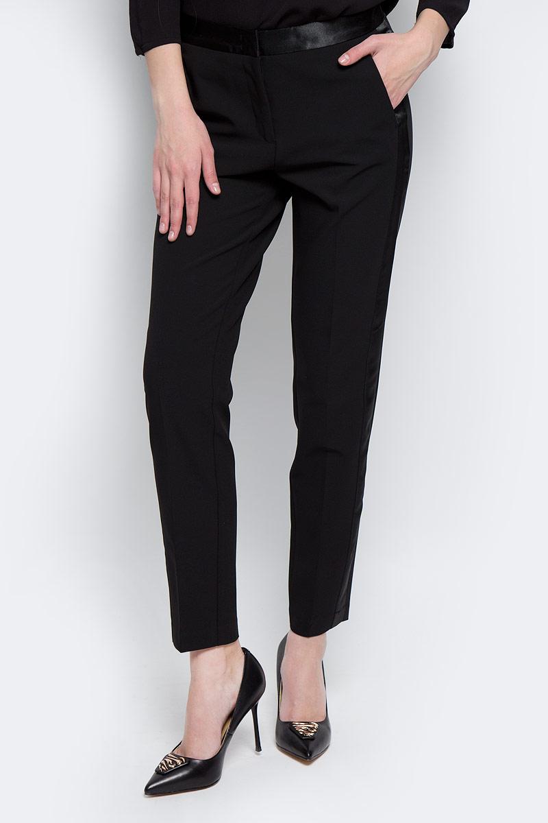Брюки женские Tom Tailor Contemporary, цвет: черный. 6404763.00.75_2999. Размер 34 (40) брюки tom tailor