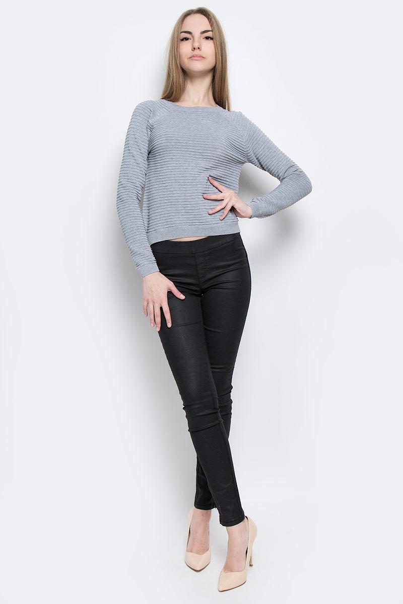 Джемпер женский Tom Tailor Denim, цвет: серый. 3022236.01.71_2707. Размер XL (50) джемпер мужской tom tailor denim цвет бордовый 3022104 01 12 4257 размер xl 52