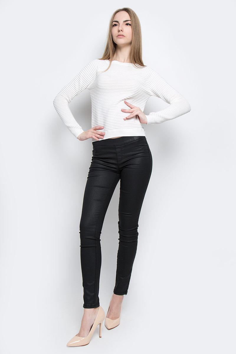 футболка женская tom tailor denim цвет белый черный 1036790 09 71 8005 размер xl 50 Джемпер женский Tom Tailor Denim, цвет: белый. 3022236.01.71_8005. Размер XL (50)
