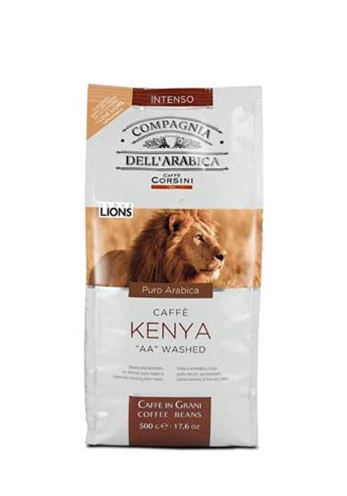 Compagnia DellArabica Kenya AA Washed кофе в зернах, 500 г8001684011087Compagnia DellArabica Kenya AA Washed - элитный высокогорный сорт 100% арабики, считающийся поистине взрослым кофе. Это напиток с ярко выраженной кислинкой, проникающей терпкостью, интенсивным привкусом и освежающим бодрящим действием. Идеально подходит для приготовления эспрессо и напитков на его основе, любыми традиционными способами!Кофе: мифы и факты. Статья OZON Гид