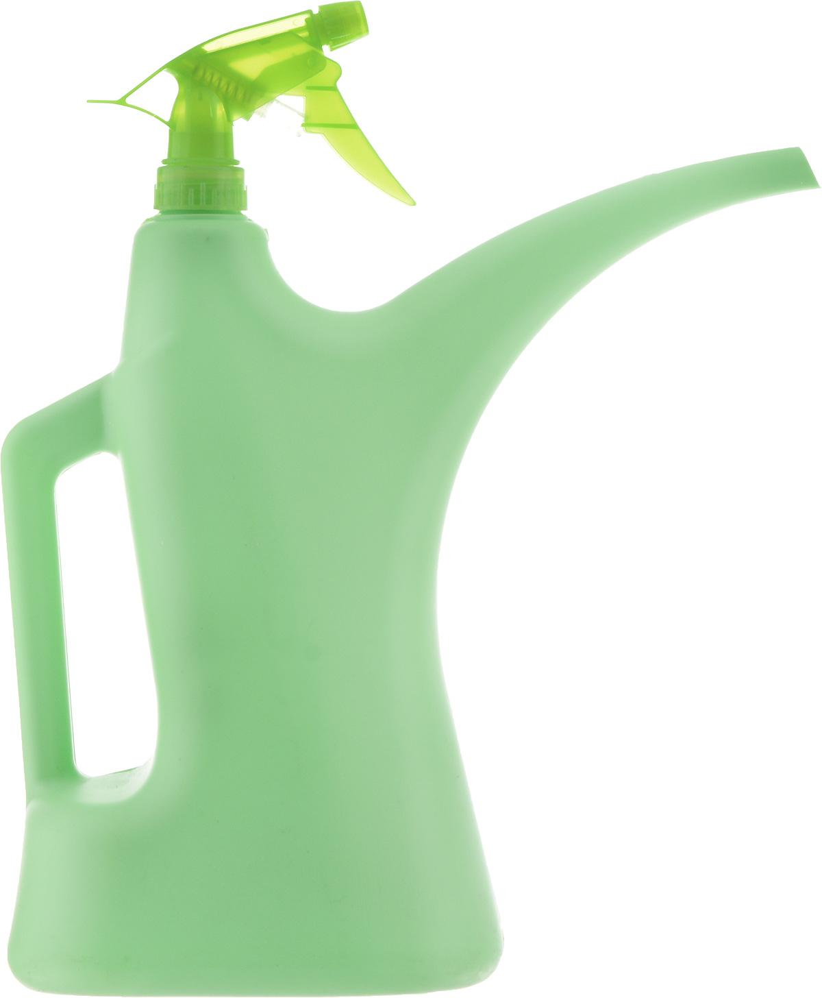 Лейка-распылитель Альтернатива, цвет: салатовый, 2 лM276_салатовыйЛейка-распылитель Альтернативапредназначена для полива насажденийна приусадебном участке или комнатныхрастений дома. Она выполнена изпластика и имеет небольшую массу,что позволяет экономить силы приполиве. Удобство в использованиитакже обеспечивается за счетэргономичной ручки лейки.Изделие снабжено пульверизаторомдля удобного опрыскивания листьев.Размер лейки-распылителя: 32 х 28 х 11 см.