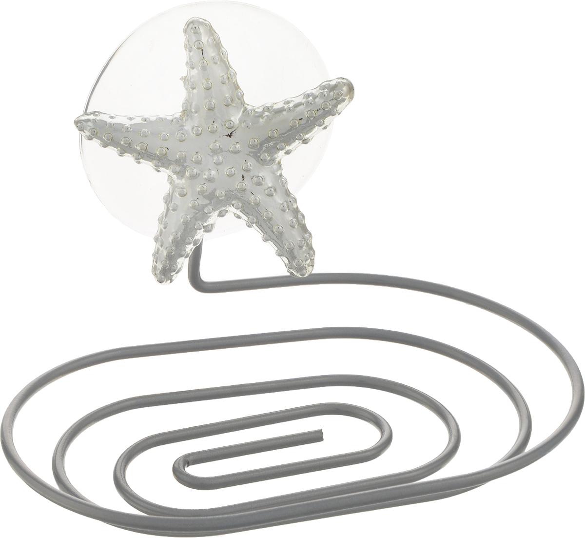 Мыльница Fresh Code Море. Звезда, на присоске, цвет: серебристый, 14 х 10 х 5,5 см56444Мыльница Fresh Code Море. Звезда выполнена из хромированной стали и украшена пластиковой фигуркой морской звезды. Изделие крепится к стене при помощи присоски. Такая мыльница прекрасно подойдет для ванной комнаты или кухни.Диаметр: 14 х 10 х 5,5 см.