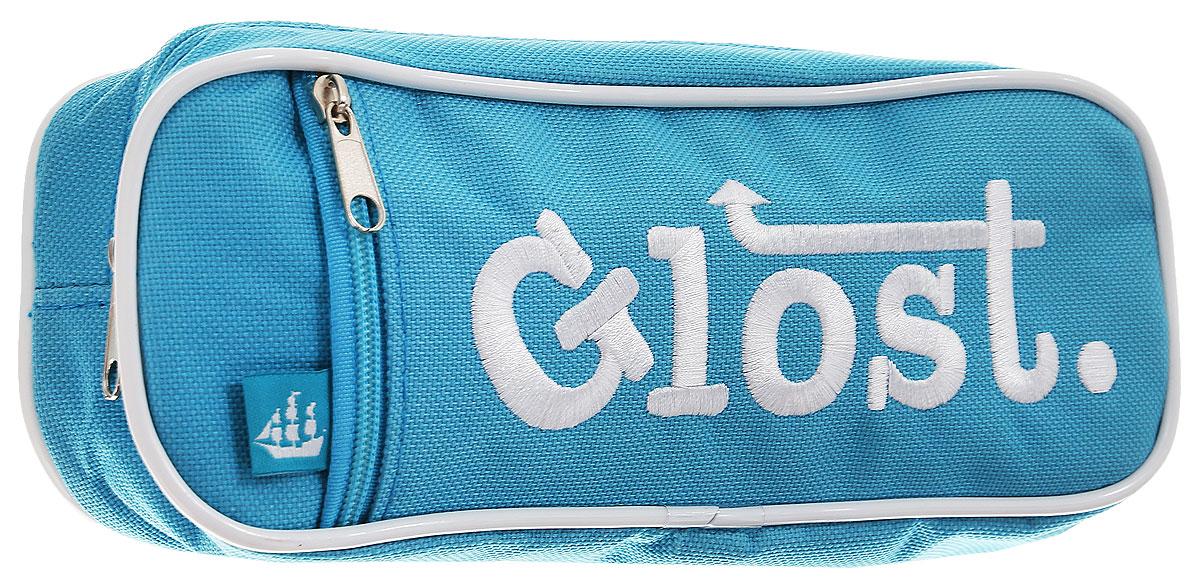 Micador Пенал Glost цвет голубойM037214Пенал Micador Glost - функциональный пенал с внутренним карабином для удобства ношения.Выполнен из высококачественного и прочного материала. Пенал имеет одно отделение на застежке-молнии. На лицевой стороне пенала расположен карман на молнии для хранения мелочей.Материал не содержит токсических веществ, полностью безопасен для детей. Пусть мир вашего ребенка будет ярким и безопасным!
