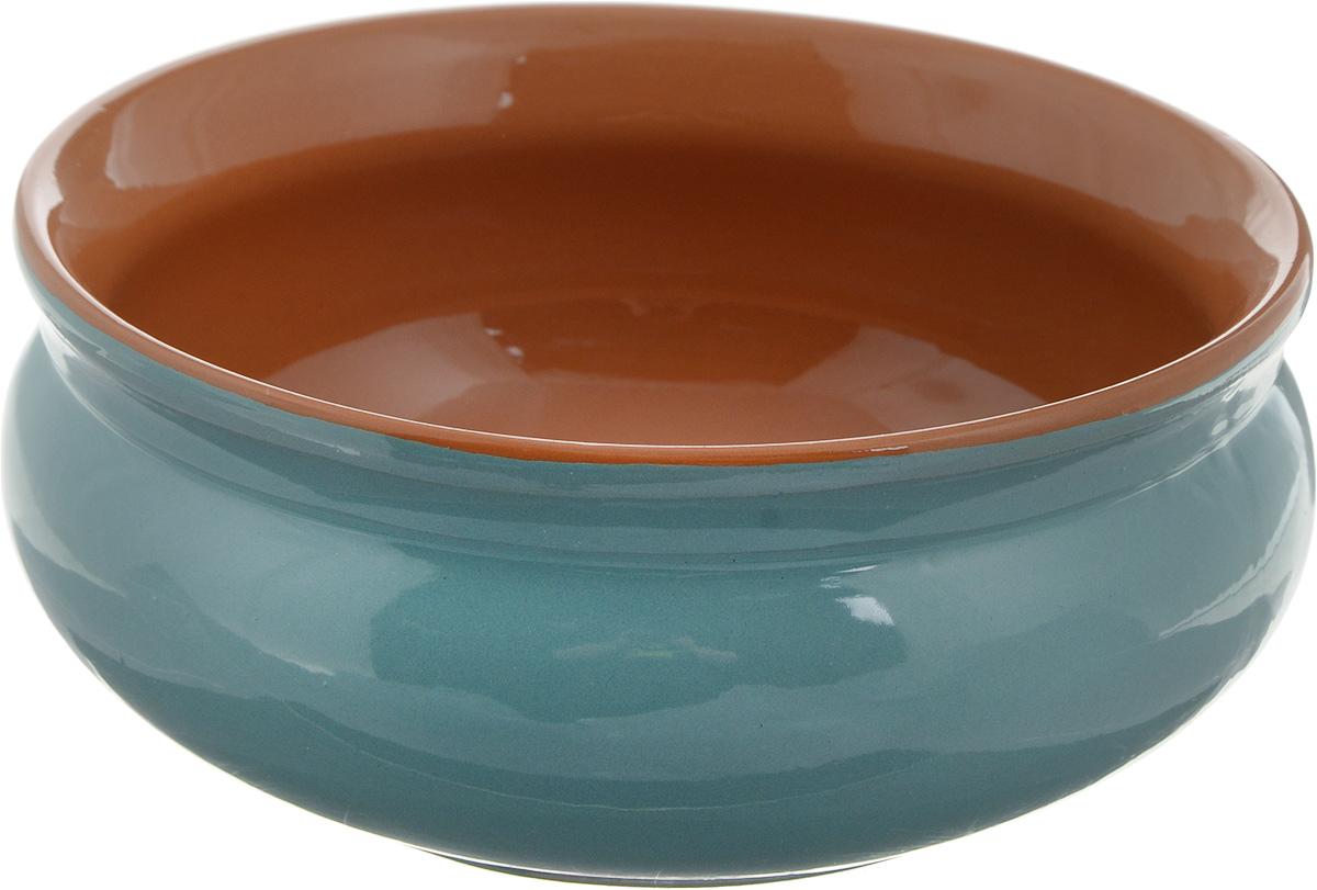 Тарелка глубокая Борисовская керамика Скифская, цвет: бирюзовый, коричневый, 500 млРАД14458194 _бирюзовый, коричневыйГлубокая тарелка Борисовская керамика Скифская выполнена из керамики. Изделие сочетает в себе изысканный дизайн с максимальной функциональностью. Она прекрасно впишется в интерьер вашей кухни и станет достойным дополнением к кухонному инвентарю. Такая тарелка подчеркнет прекрасный вкус хозяйки и станет отличным подарком. Можно использовать в духовке и микроволновой печи.Диаметр тарелки (по верхнему краю): 14 см.