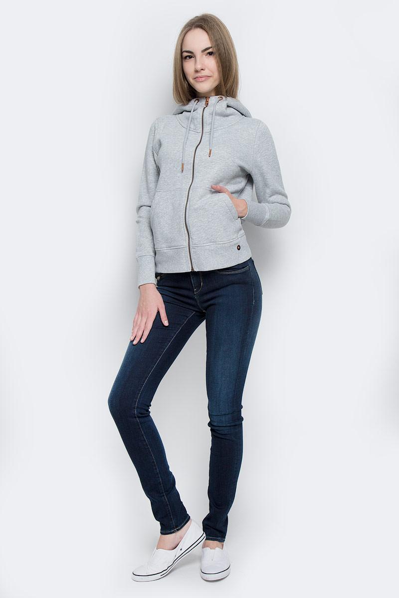 Джинсы женские Calvin Klein Jeans, цвет: темно-синий. J20J201275_9114. Размер 26 (38/40)J20J201275_9114Стильные женские джинсы Calvin Klein Jeans выполнены из хлопка с добавлением эластомультиэстера и эластана. Материал мягкий и приятный на ощупь, не сковывает движения и позволяет коже дышать.Джинсы-скинни средней посадки застегиваются на пуговицу в поясе и ширинку на застежке-молнии. На поясе предусмотрены шлевки для ремня. Спереди модель оформлена двумя втачными карманами и одним маленьким накладным кармашком, сзади - двумя накладными карманами. Модель оформлена эффектом потертости и контрастной прострочкой.