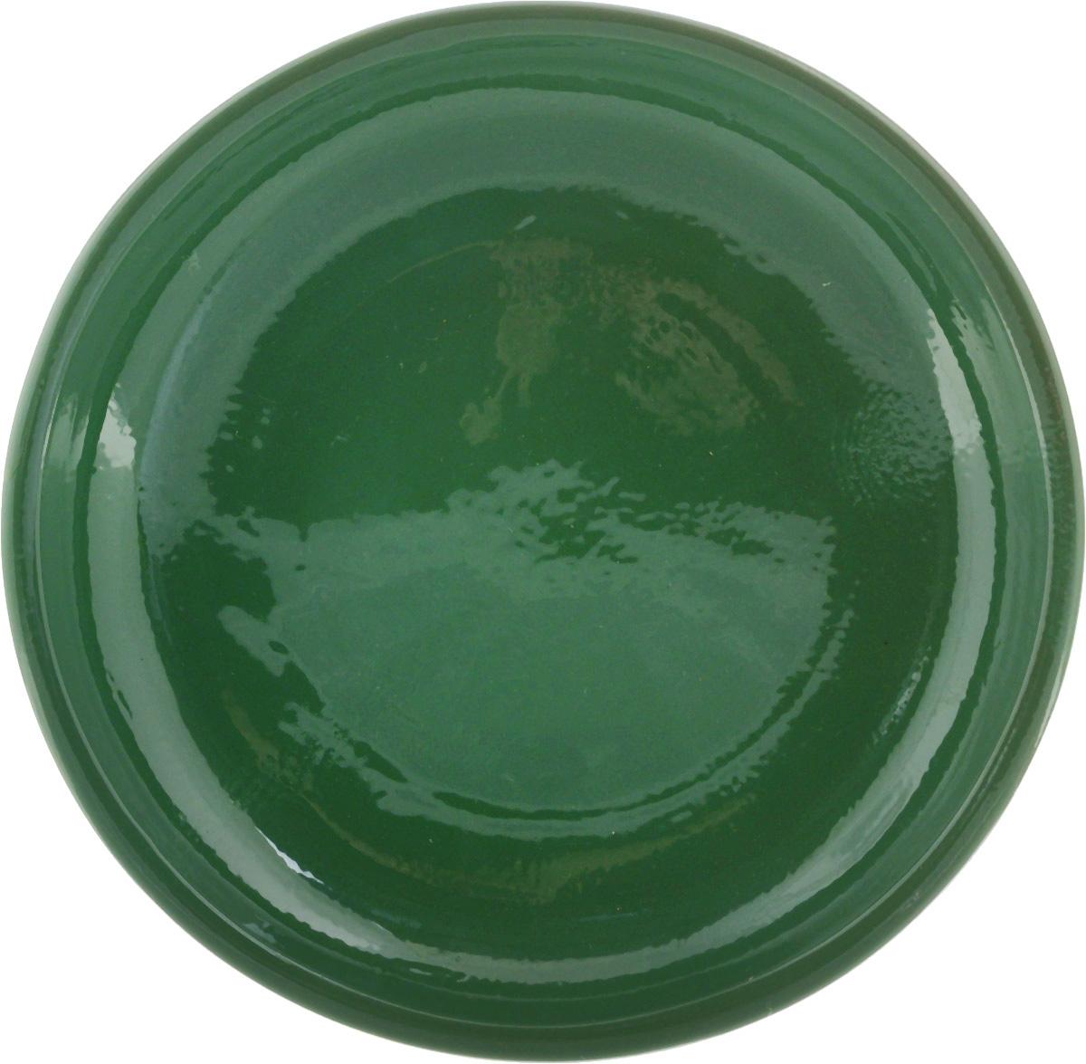 Тарелка Борисовская керамика Радуга, цвет: зеленый, диаметр 18 смРАД00000458_зеленыйТарелка Борисовская керамика Радуга выполнена из высококачественной керамики. Изделие идеально подойдет для сервировки стола и станет отличным подарком к любому празднику. Можно использовать в духовке и микроволновой печи.