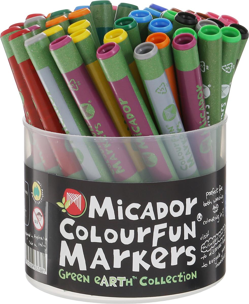Micador Фломастеры Colourfun 48 шт купили ручки и фломастеры по одной цене