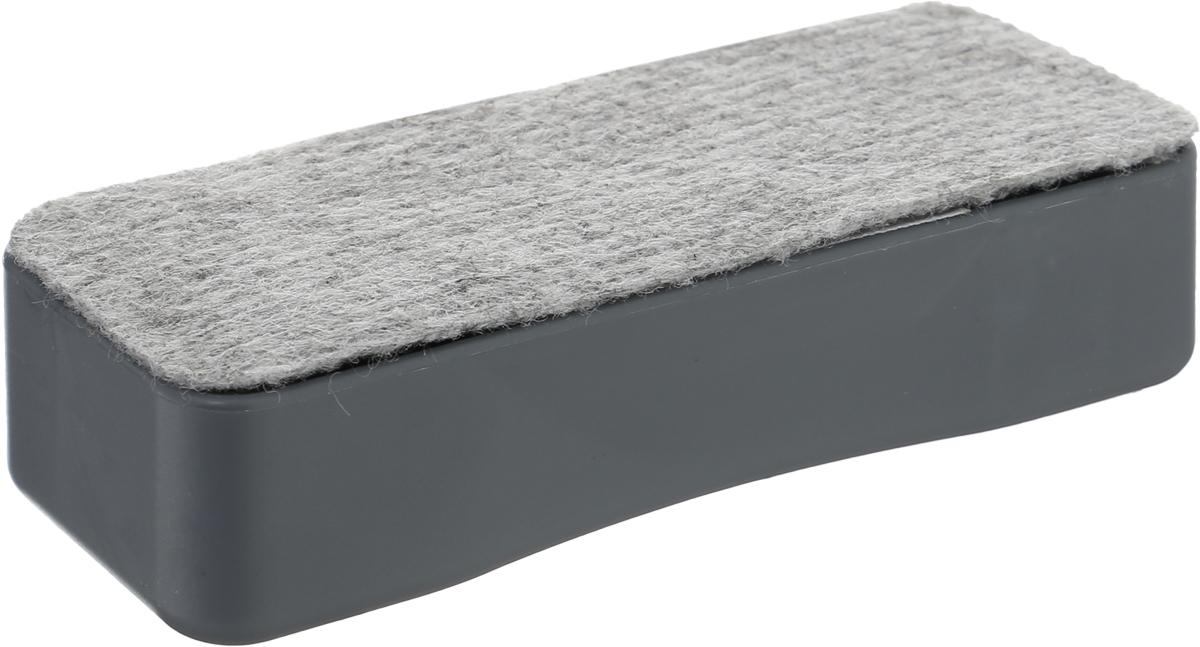 Silwerhof Стиратель для офисной доски Elegance магнитный659002-02Стиратель для офисных досок Silwerhof Elegance - неотъемлемый атрибут любого офиса. Он предназначена для удаления надписей с магнитно-маркерных досок.Стиратель имеет прямоугольную форму. Верхняя его часть изготовлена из полипропилена, а стирающий элемент выполнен из нетканого материала.