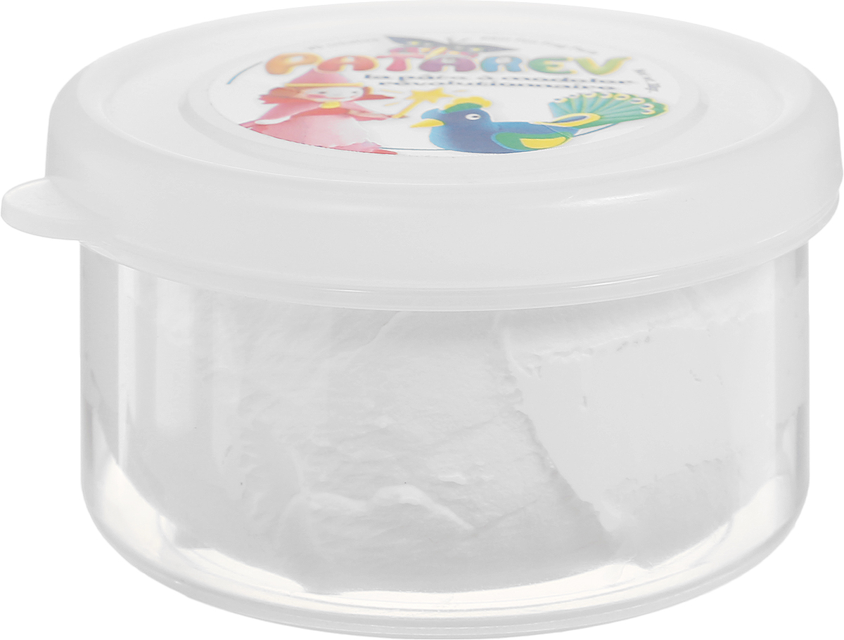 SentoSphere Пластилин Patarev цвет белый867Пластилин SentoSphere Patarev хорошо режется фигурными ножницами, с помощью которых можно будет вырезать красивую кайму. Высохнув, пластилин не ломается. Когда пластилин высохнет, его можно раскрасить.Засохший пластилин можно вернуть в исходное состояние, намочив водой.