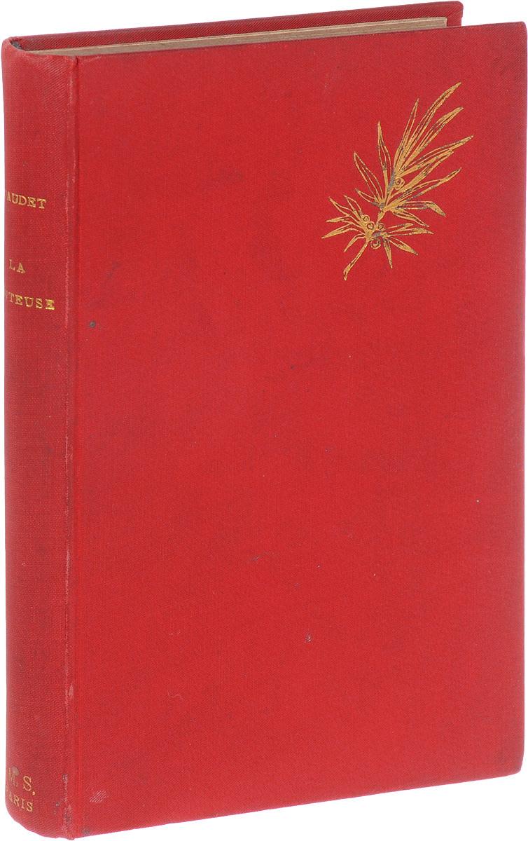 La MenteuseMB05-00940Париж, конец XIX века. Издательство Ernest Flammarion, editeur.Иллюстрированное издание.Типографский переплет, с золотым тиснением.Сохранность хорошая.Альфонс Доде обладал тем великим искусством, которое удивительно тонко и правдиво передает жизнь во всех ее проявлениях. Какого бы предмета не касался автор в своих произведениях, веселого или грустного, отвлеченного или реального, всюду он верен себе, всюду он - изумительный наблюдатель, глубокий знаток человеческой души и вдохновенный поэт.В обширном наследии Доде есть и драматические произведения. Первые пьесы, написанные еще в пору службы в канцелярии, внушили Доде надежды на успех у зрителя. Однако провал Арлезианки (1872) более чем на десятилетие отдалил Доде от театра. Возвращение в 1889 г. отмечено постановкой драмы Борьба за жизнь (1889), трактующей тему молодого человека конца XIX столетия. За ней последовали пьесы Преграда (1890) и Лгунья (1892), предлагаемая вниманию читателей.Не подлежит вывозу за пределы Российской Федерации.
