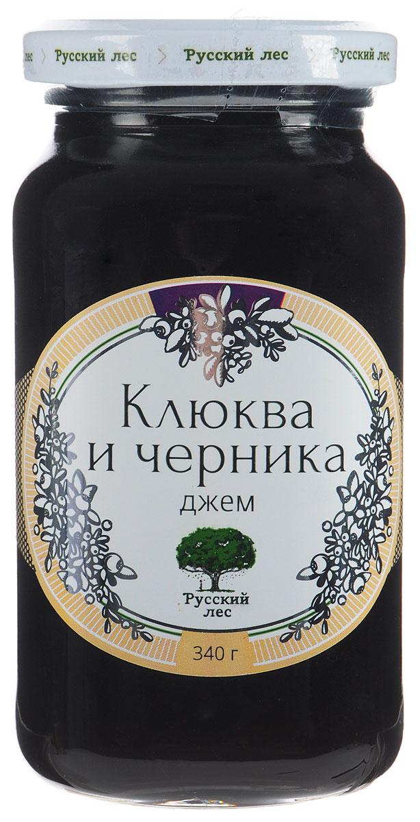 Русский лес Клюква и черника джем без сахара, 340 г mr djemius zero низкокалорийный джем клюква 270 г