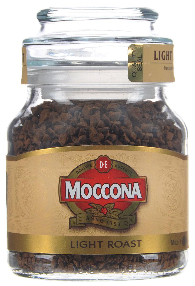 Moccona Light Roast кофе растворимый, 47,5 г4607031792476Растворимый кофе Moccona Light Roast - натуральный сублимированный кофе.Насладитесь сбалансированным вкусом и богатым ароматом кофе Moccona, это ежедневный подарок себе.