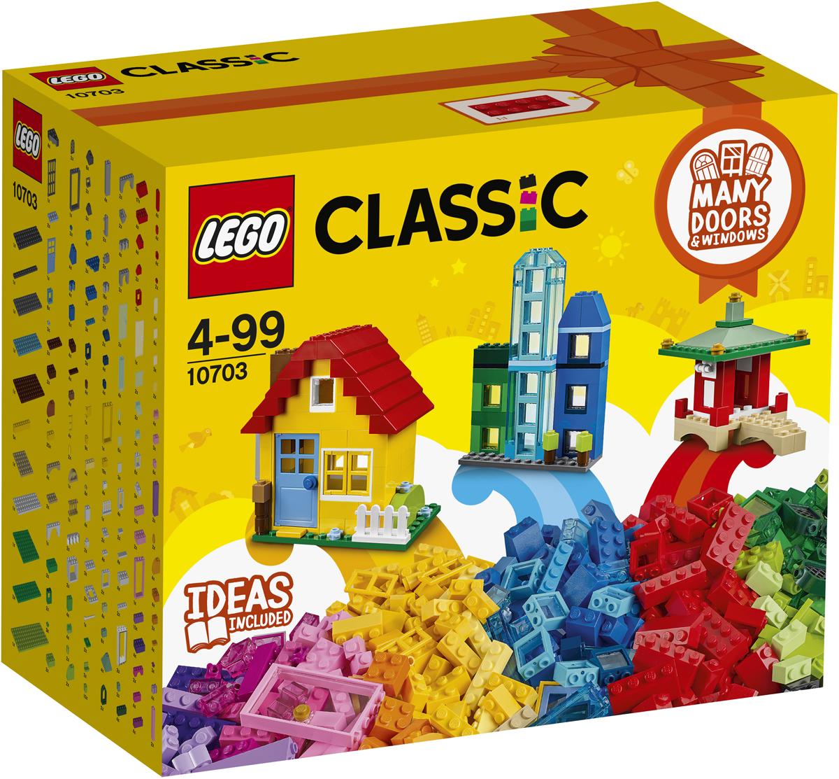 LEGO Classic Конструктор Набор для творческого конструирования 10703 lego classic конструктор дополнение к набору для творчества яркие цвета 10693