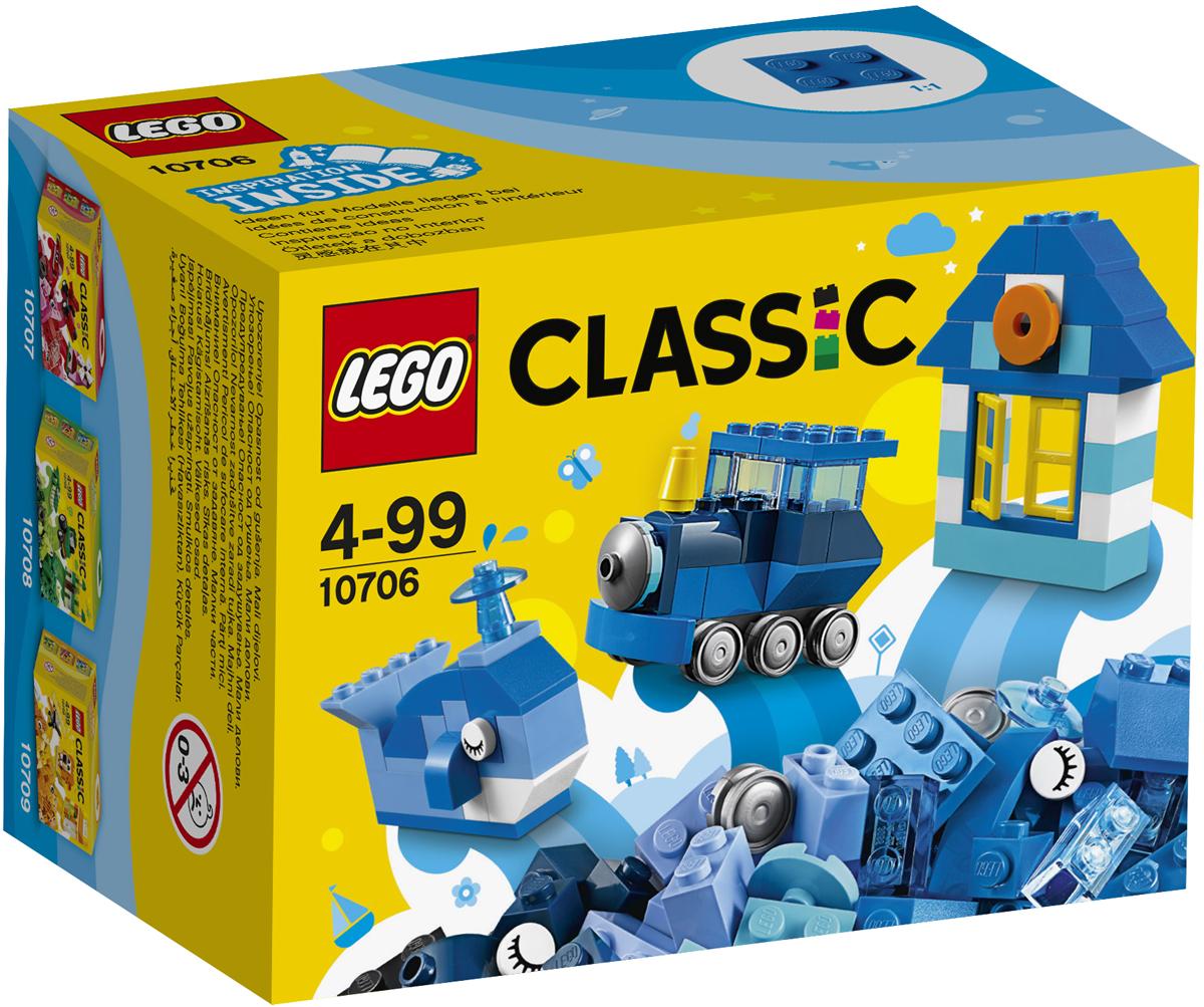 LEGO Classic Конструктор Синий набор для творчества 10706 lego classic конструктор дополнение к набору для творчества яркие цвета 10693